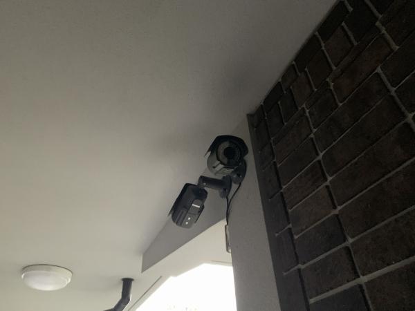 長久手市での防犯カメラ設置工事