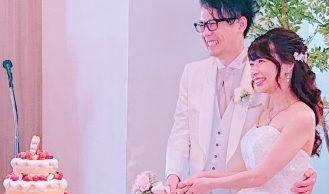 11月14日結婚式の様子